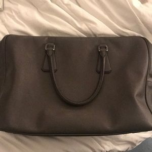 Prada gray bag! Excellent condition